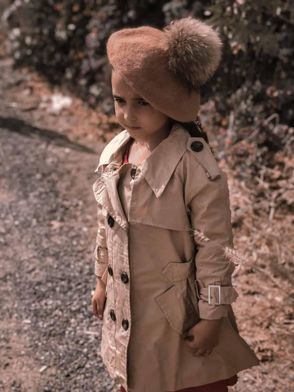 מעיל טרנץ בנות
